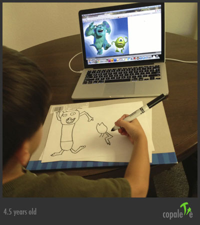 G Draws Sully & Mike W from Monsters, Inc