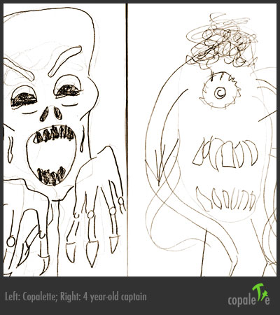 G & I Draw monsters together