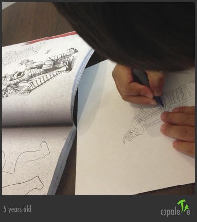 G draws a Mummy