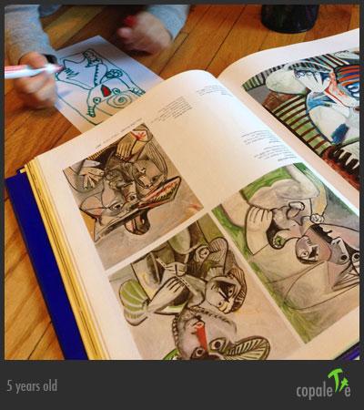 G imitates a Picasso