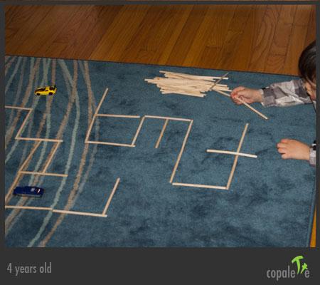 G designs a maze