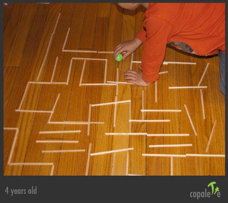G solves a maze