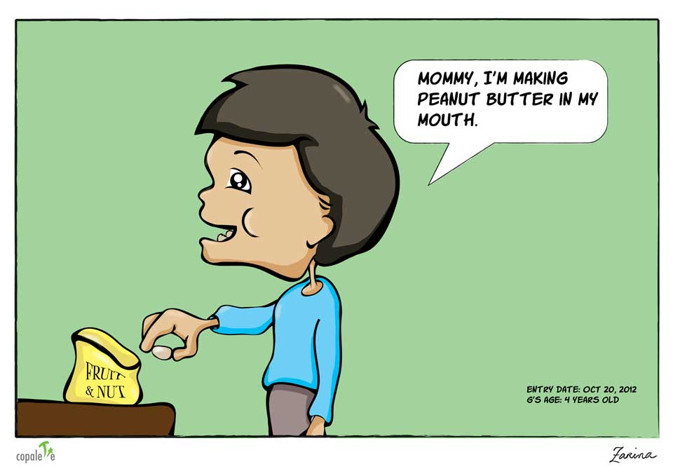 Peanut Butter in My Mouth | Copalette