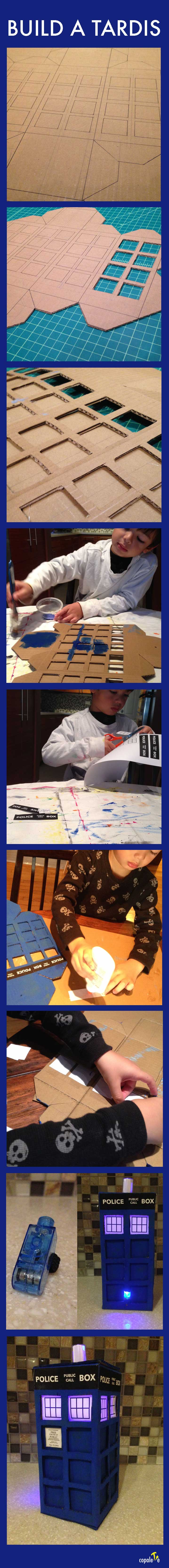 Build A Tardis | Kids' Activities Inspired by The Doctor