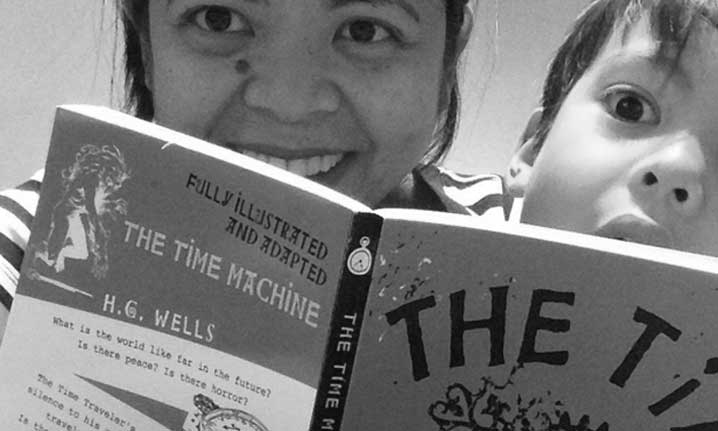 Reading The Time Machine by HG Wells | Kids' Activities Inspired by The Doctor