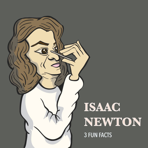 Isaac Newton: 3 Interesting Facts