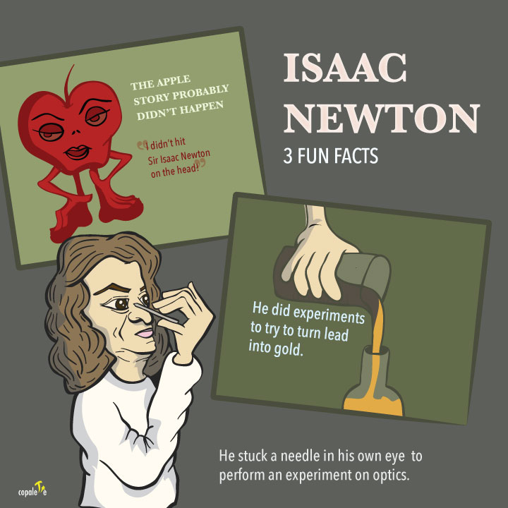 isaac newton essay for kids