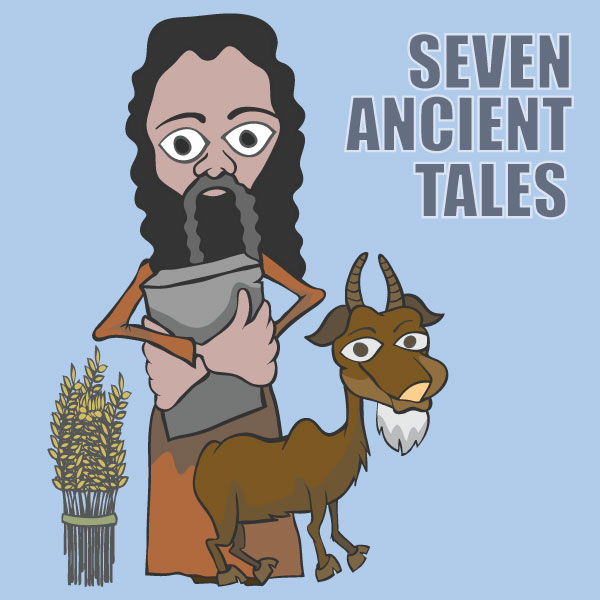 Seven Ancient Tales: A Doodled Past