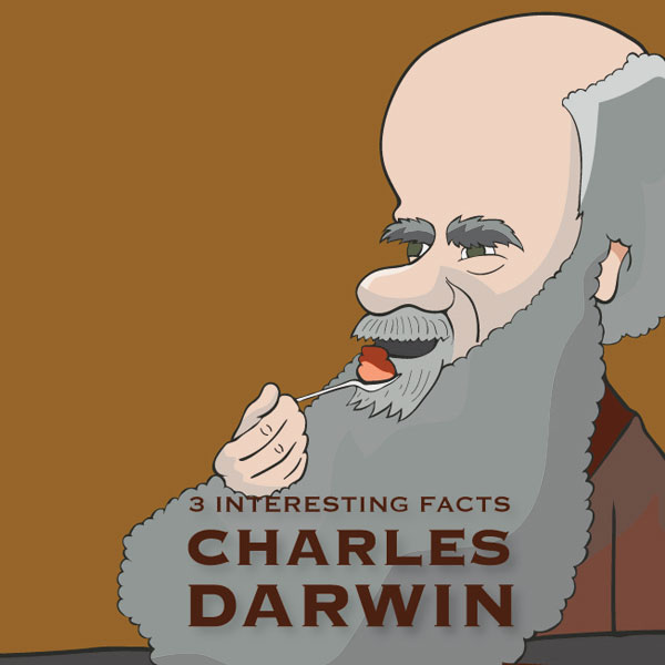Charles Darwin: 3 Interesting Facts