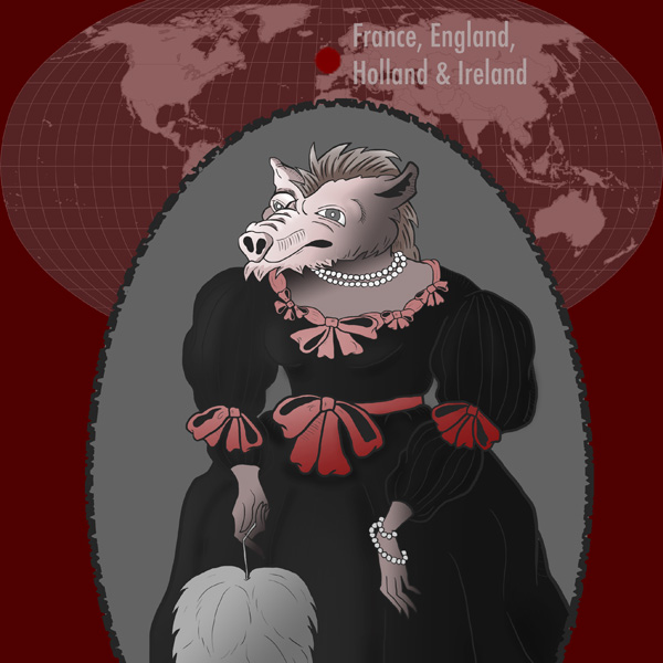 Pig-Faced Woman: Monster of Holland, England, France & Ireland