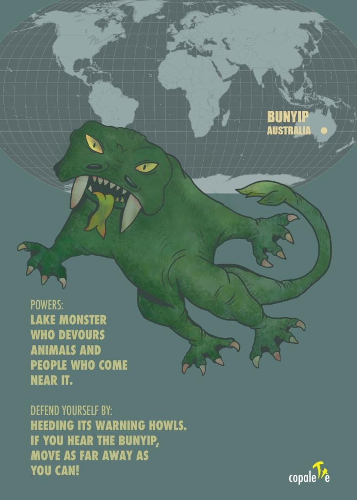 Monsters of the World: Bunyip of Australia