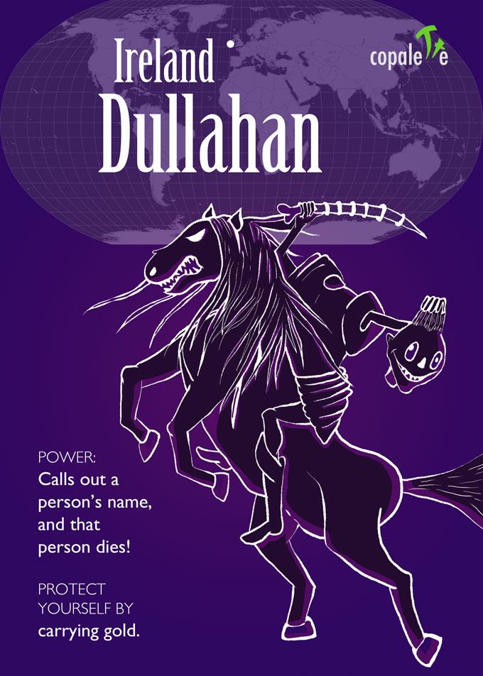 Monsters of the World: Dullahan (Headless Horseman) of Ireland