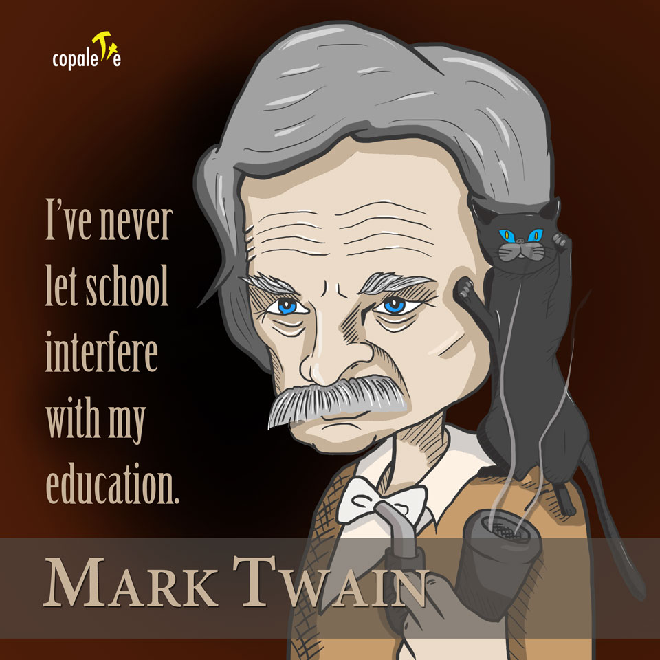 Mark Twain Quote on Education
