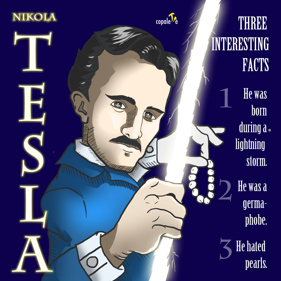 Nikola Tesla: 3 Interesting Facts for Kids