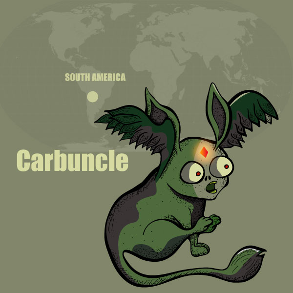 The Carbuncle of South America: Monsters of the World