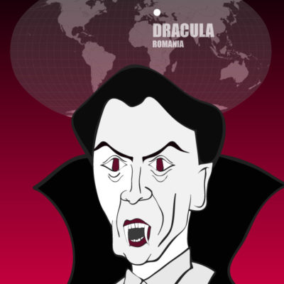 CountDracula ofRomania: Monsters of the World