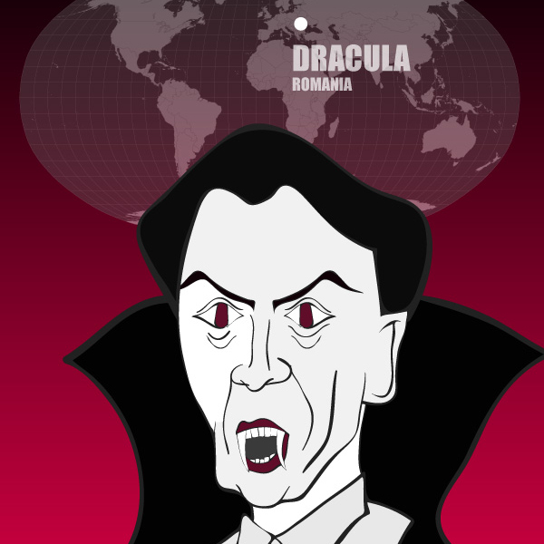 Count Dracula of Romania: Monsters of the World
