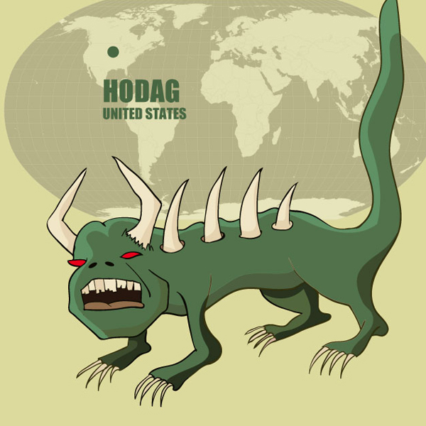The Hodag of USA: Monsters of the World