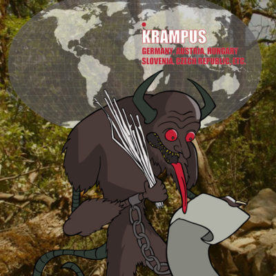 Krampus: A Monster ofGermany, Austria, and Other Parts of Europe