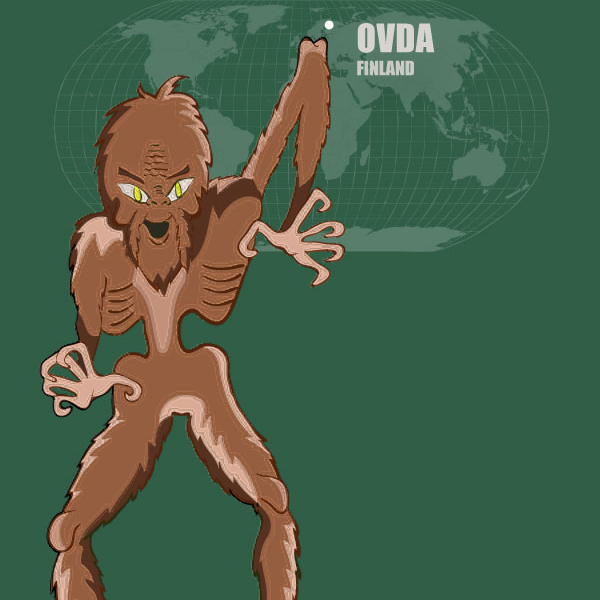 The Ovda of Finland: Monsters of the World
