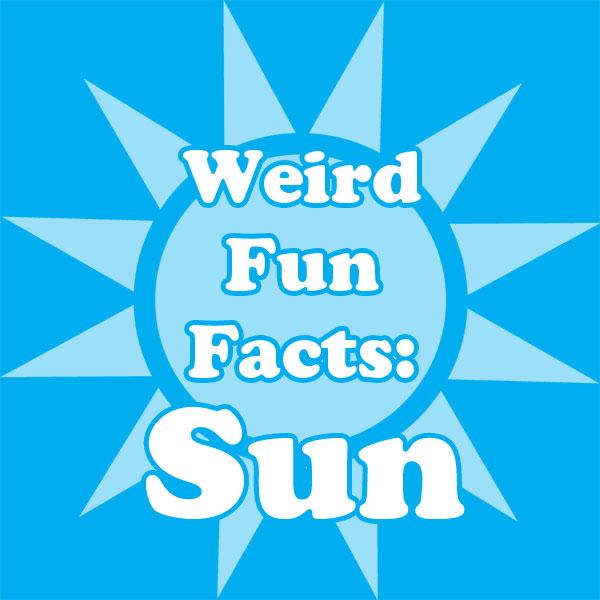 Weird Fun Facts Cards: Sun